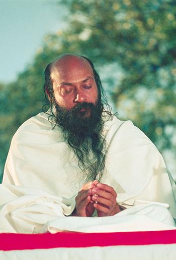 Проповедник в состоянии медитации