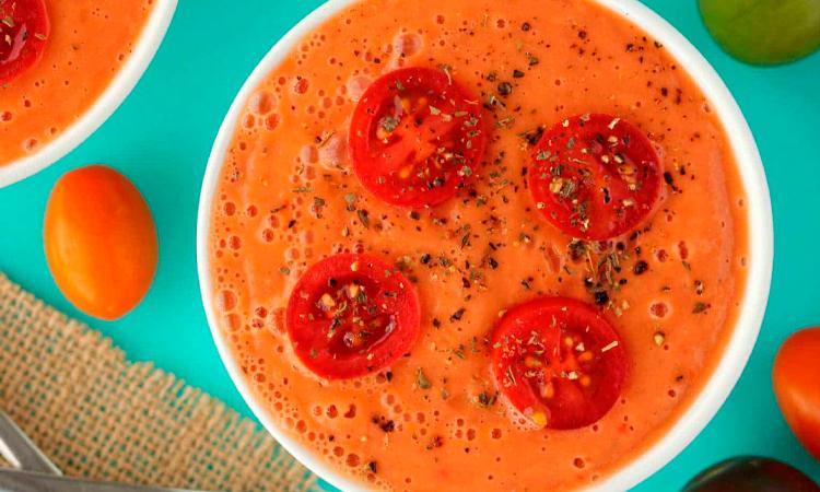 Готовый крем-суп из томатов