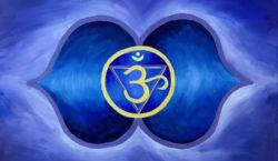 Шестая Чакра Аджна — Синяя чакра третьего Глаза