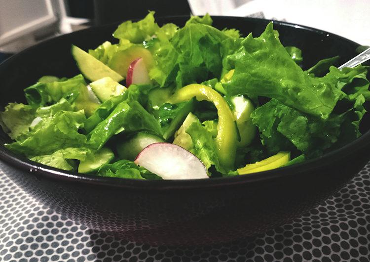 Салат на оливковом масле