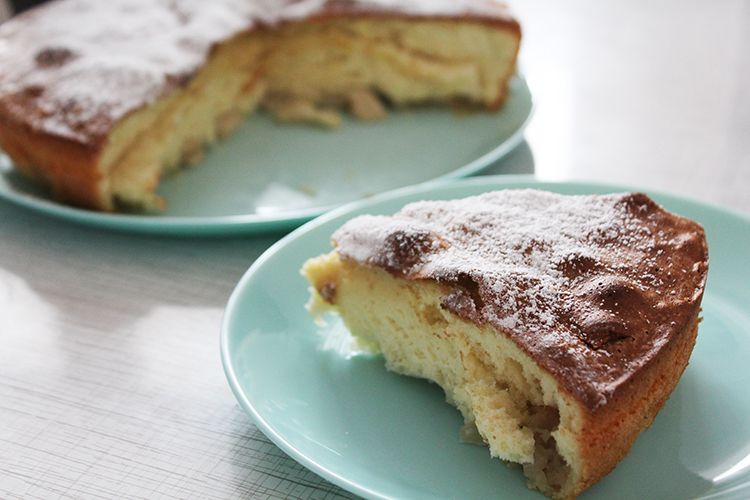 Пирог из яблок